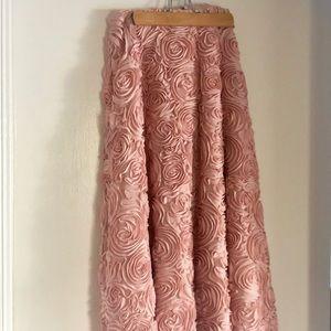 Anthropologie Rose Skirt